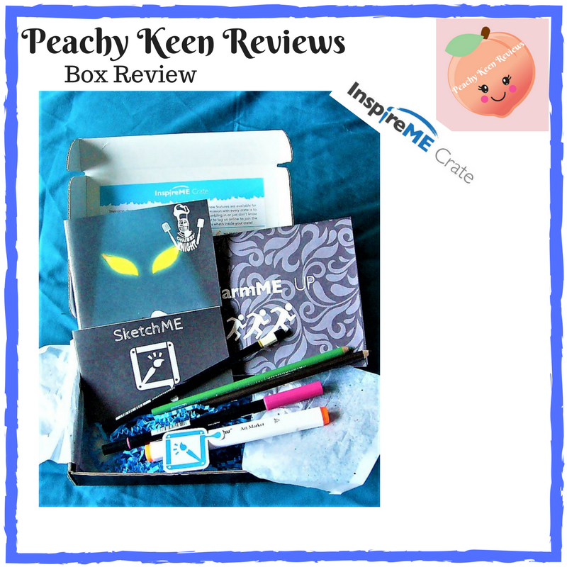 0d1fce71a3 Box Review: InspireME Crate – July 2017 – Peachy Keen