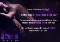 Teaser 2 Redemption