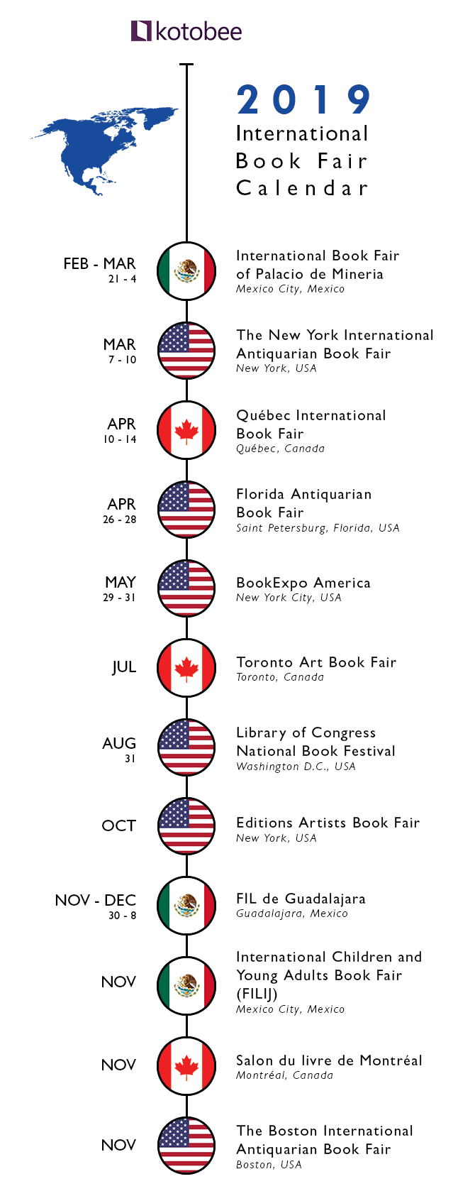 Book-fairs-North-America-2019