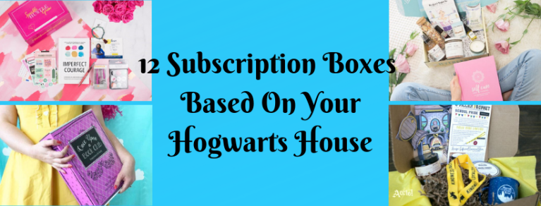 12 Subscription Boxes Based On Your Hogwarts House